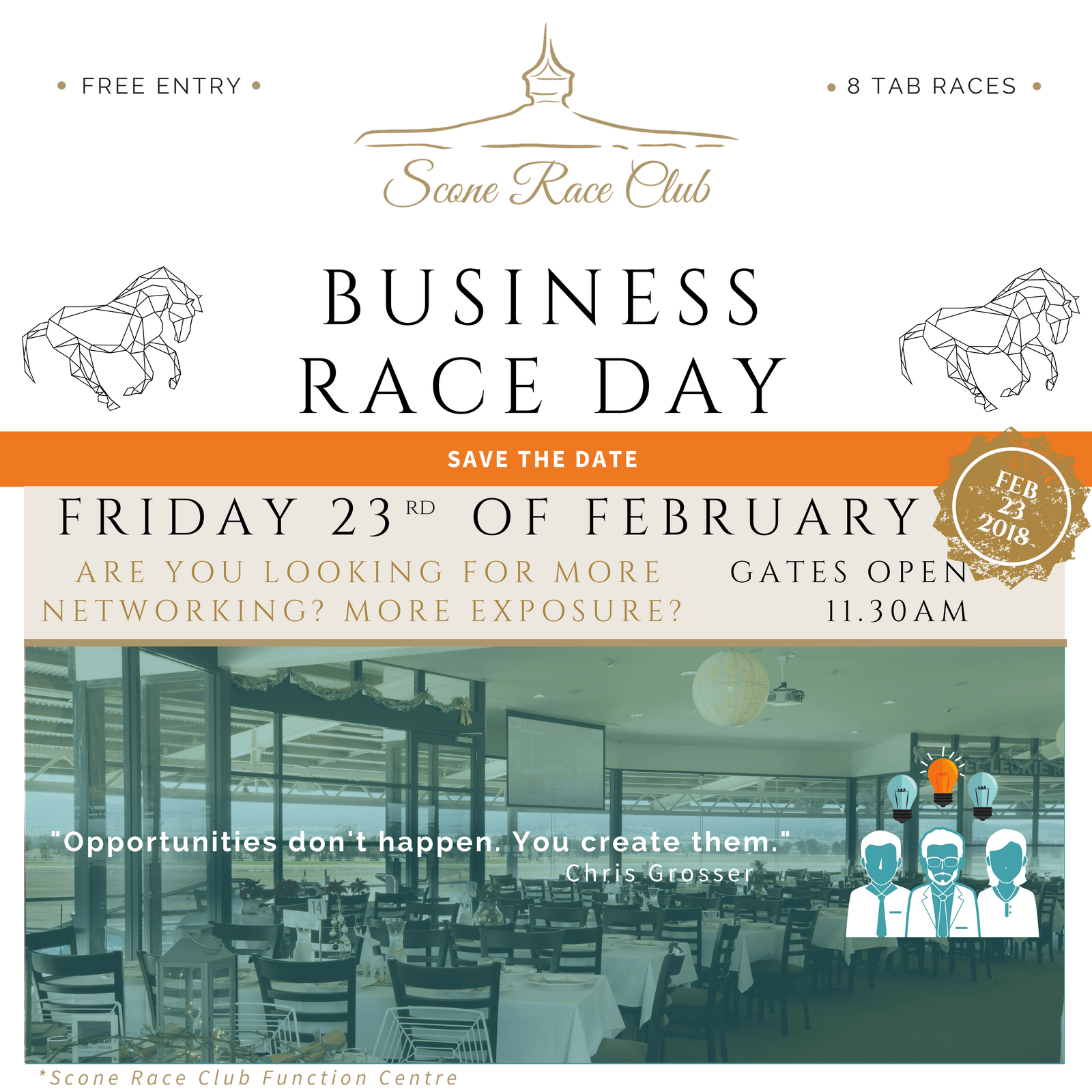 Business Race Day - 23 February 2018
