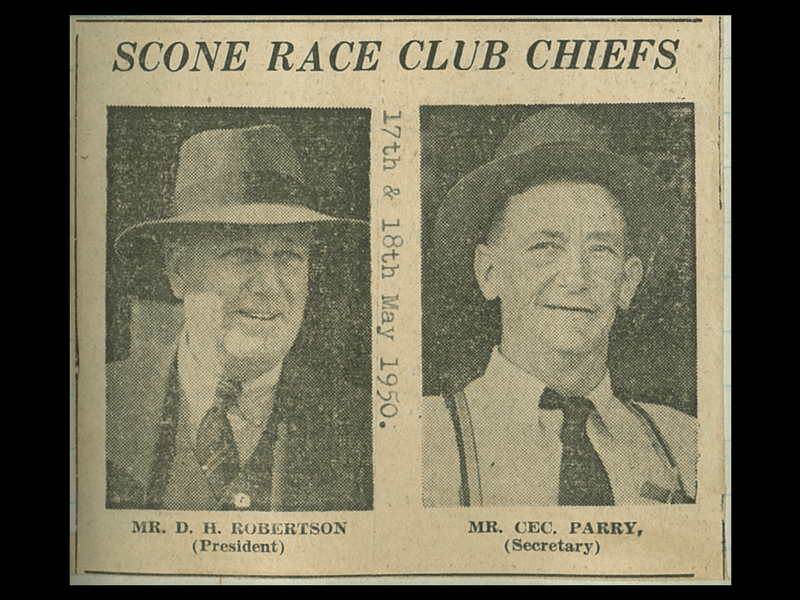 The Scone Race Club chiefs